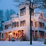 Restaurant in the Winter - Orcutt Photography
