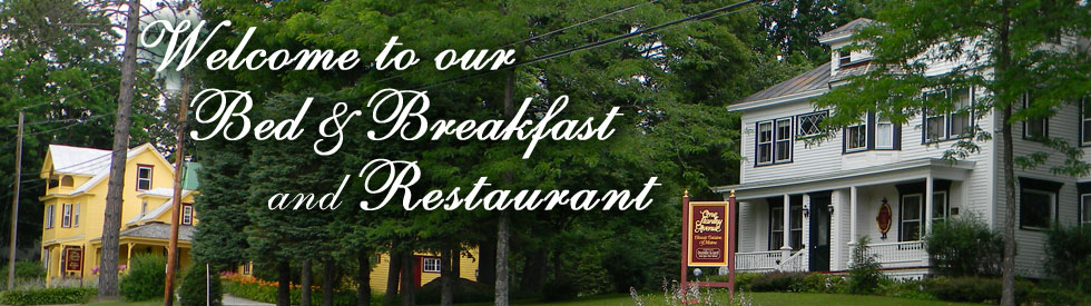 Stanley Avenue | Restaurant, Bed and Breakfast, Kingfield Maine